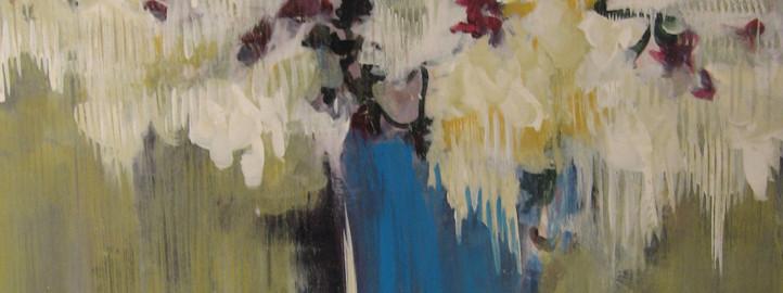 А blue vase - Драгица Гађански