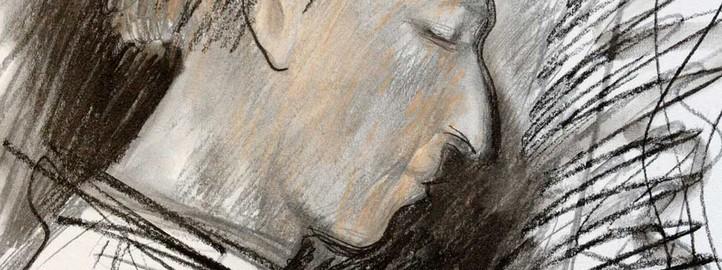 Портрет песника Бабкена Симоњана - Паравон Mирзојан