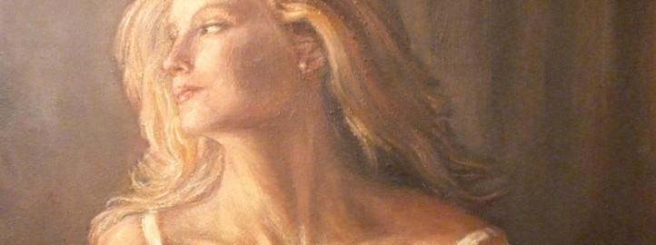 Memory, oil on canvas - Miloš Bojović