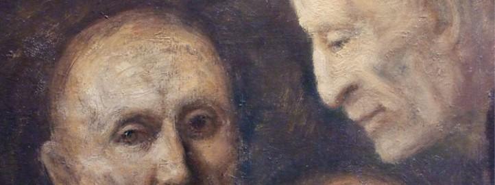 Marked, oil on canvas - Miloš Bojović