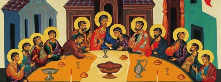 Тајна вечера, икона 1995 - Михаило Галовић