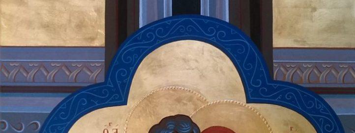 Свети Јоаким и Ана, икона, 2016 - Михаило Галовић