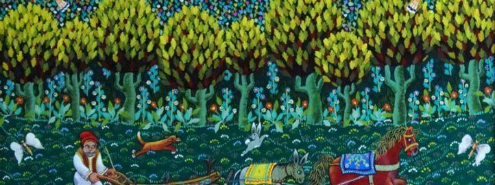 Surreal Painting W Findlay, painting - Ljubomir Milinkov