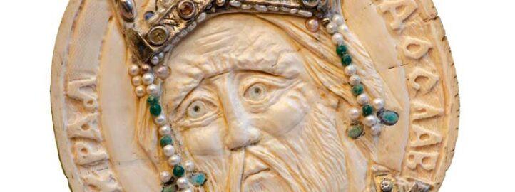 Краљ Рaдослав, кост, детаљ са Кивота Светог Саве - Војислав Билбија